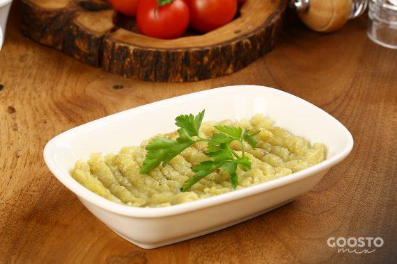 Salată de vinete fără maioneză, vegană