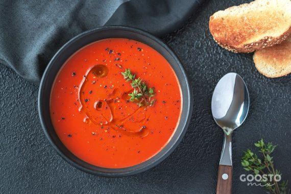 Supă cremă de ardei la Thermomix