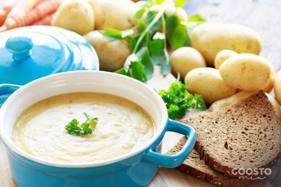 Supă cremă de cartofi la Thermomix