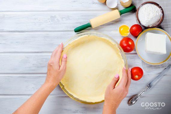 Aluat cu brânză pentru tartă la Thermomix