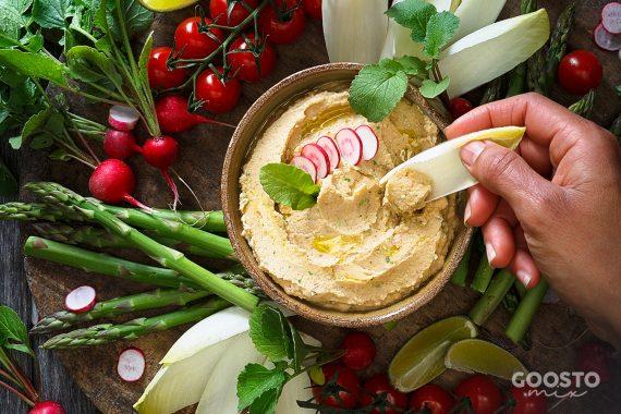 Hummus de casă la Thermomix