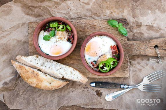 Brioșe cu spanac și ouă la Thermomix