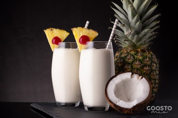 Pina Colada preparată la Thermomix