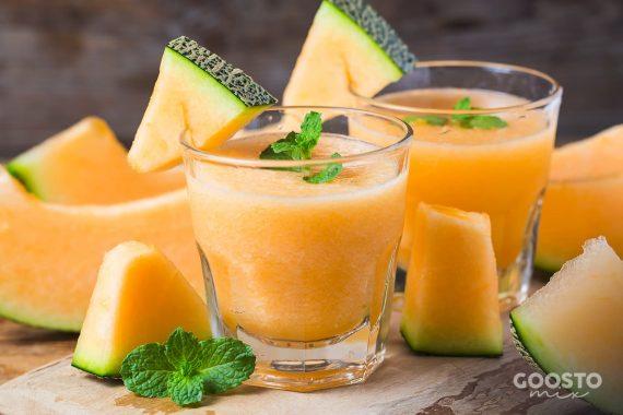 Smoothie energizant cu pepene galben și maca