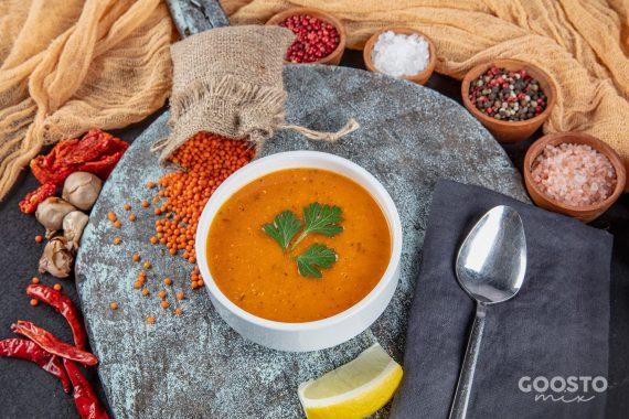 Supă de linte roșie la Thermomix