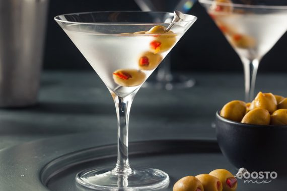 Cocktail Martini cu Vodka la Thermomix