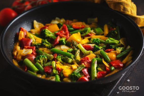 Mix legume cu unt în Thermomix