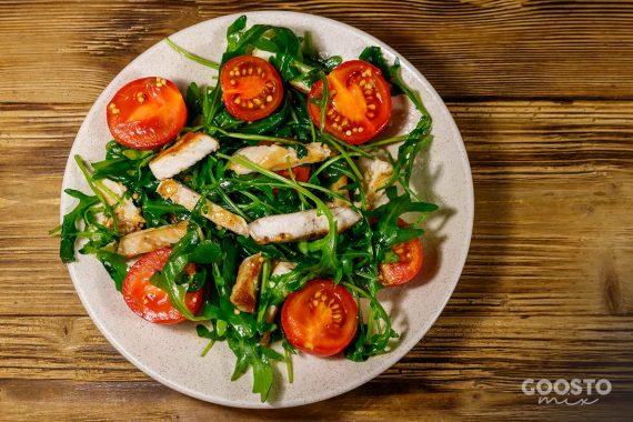 Salată de pui cu rucola și grâu la Thermomix