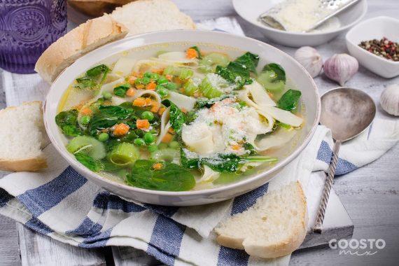 Supă minestrone cu mazăre la Thermomix