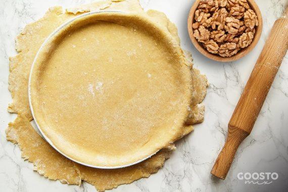 Crustă de tartă cu nucă la Thermomix