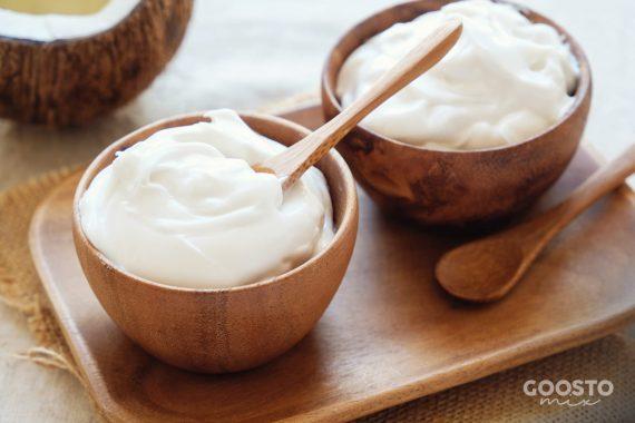 Iaurt cu fulgi de nucă de cocos la Thermomix