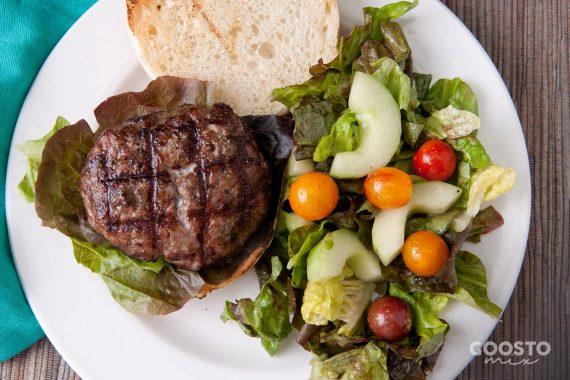Chiftea pentru burger de vită de casă