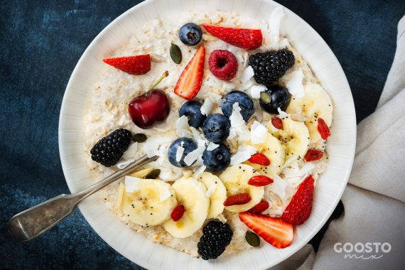 Mix cu semințe și goji pentru mic dejun