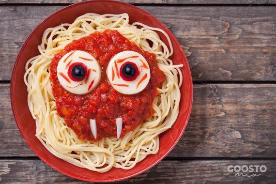 Spaghete cu sos roșu la Thermomix