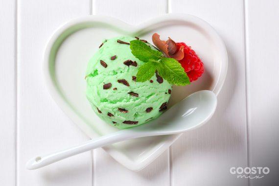 Înghețată de mentă la Thermomix
