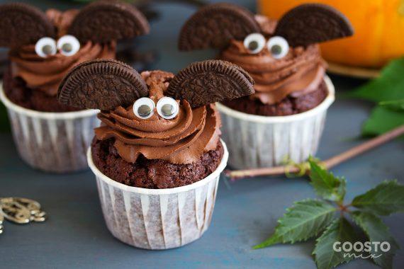 Brioșe de ciocolată urecheate de Halloween la Thermomix