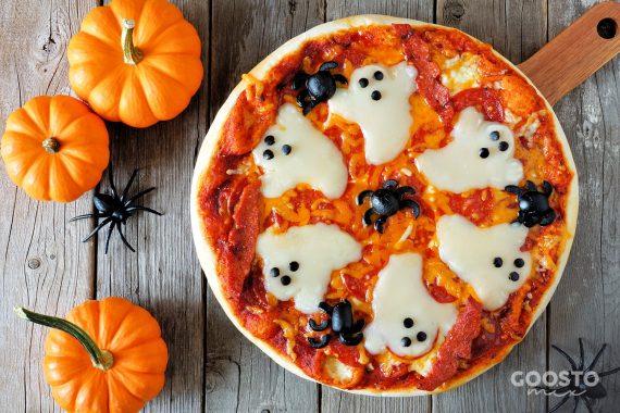 Pizza cu dovleac preparată la Thermomix