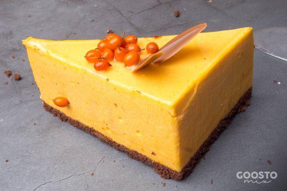Cheesecake cu cătină la Thermomix