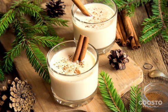 Lapte aromat pentru Moș Crăciun