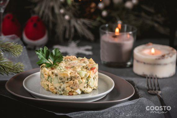 Salată de boeuf cu pui la Thermomix