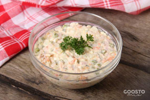 Salată boeuf cu carne de vită la Thermomix