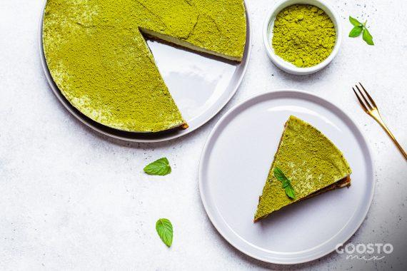 Cheesecake vegan la Thermomix cu pudră de maca
