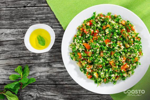Salată tabbouleh rapidă la Thermomix