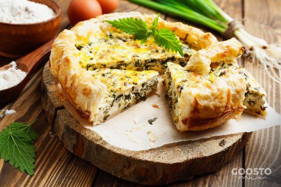 Plăcintă cu brânză și urzici la Thermomix