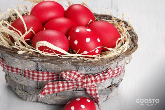 Ouă vopsite de Paște la Thermomix