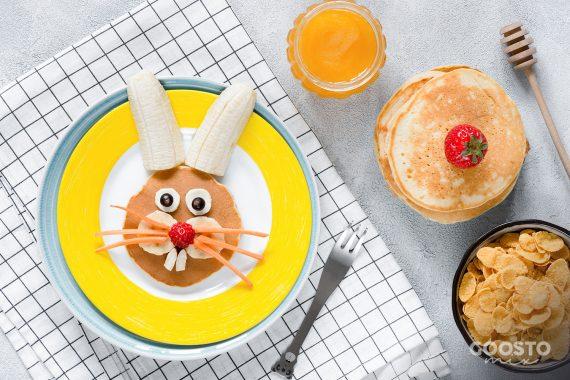 Pancakes cu iaurt la Thermomix pentru copii