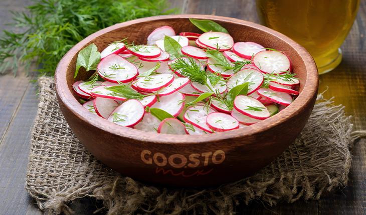 Ridichile – legume sănătoase de primăvară, nutritive și versatile