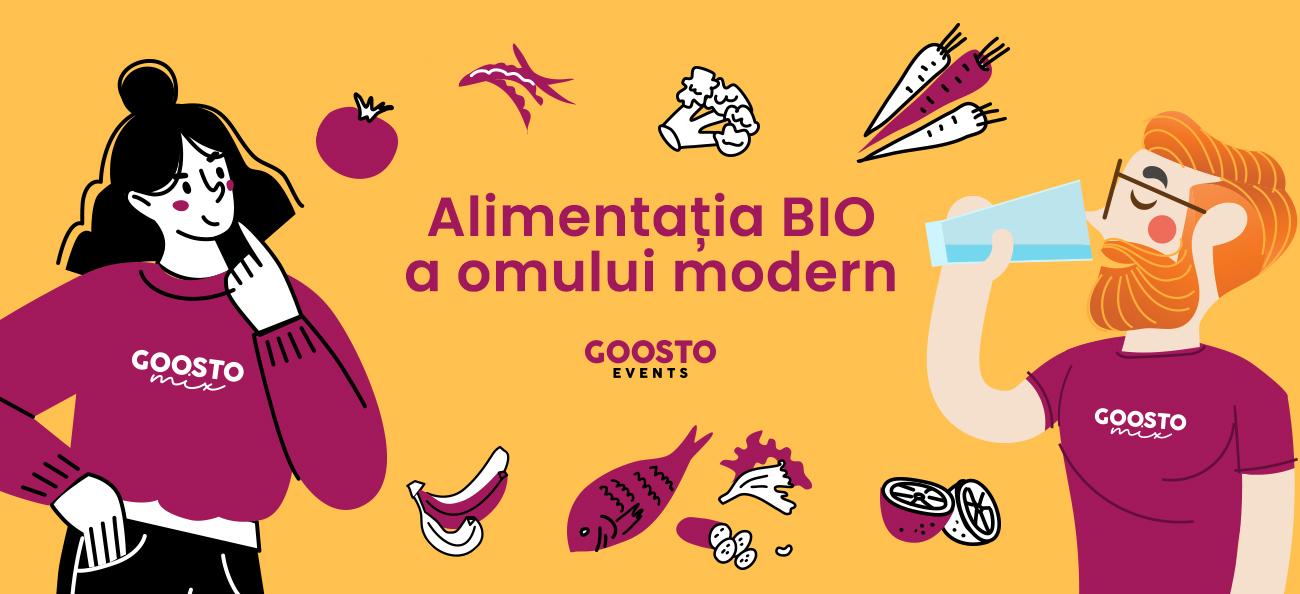 Iată cum s-a desfășurat primul eveniment GoostoMix – Alimentația BIO a omului modern