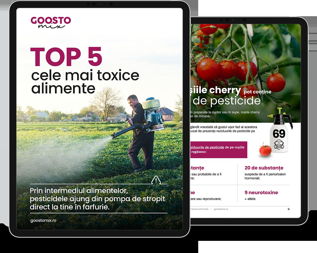eBook: Top 5 cele mai toxice alimente